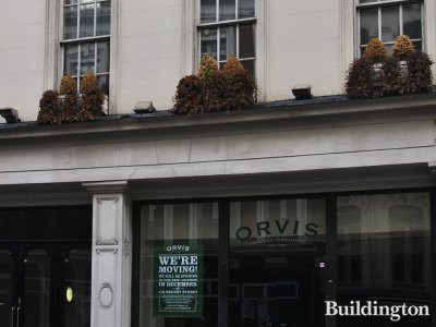Orvis is moving out in December 2013 to a new store at 11B Regent Street.