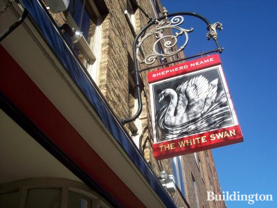 The White Swan at 21 Alie Street.