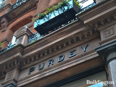 Purdey store at Audley House.