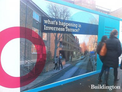So what's happening in Inverness Terrace?