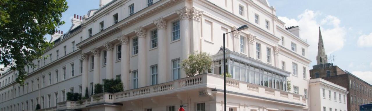 48 Eaton Square building in London SW1