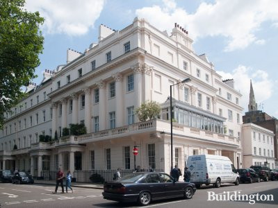 48 Eaton Square building in London SW1