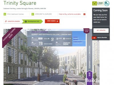Trinity Square by Barratt