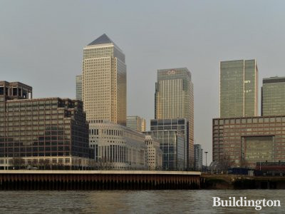 One Canada Square in Canary Wharf.