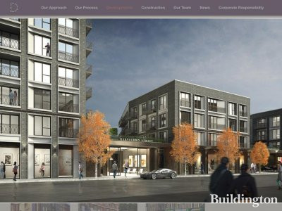 Screen capture of 87-125 Cleveland Street CGI on Dukelease website www.dukelease.com