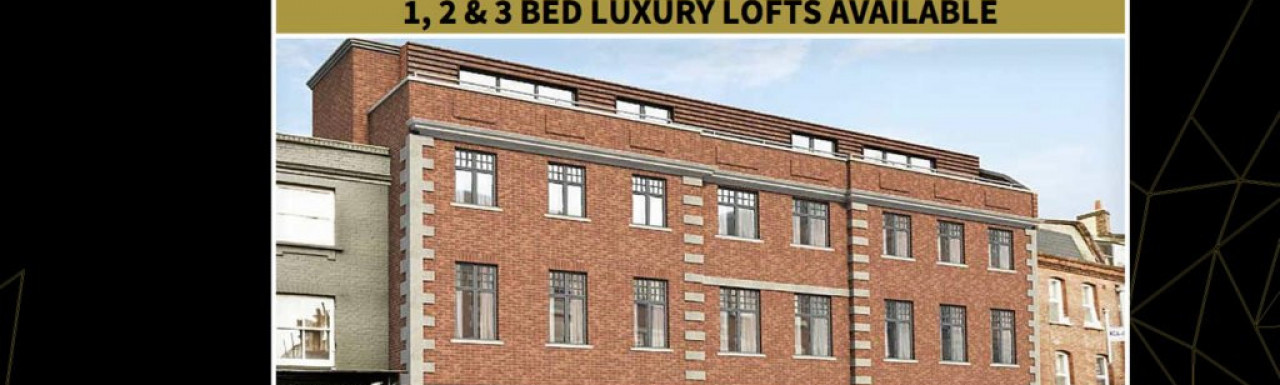 Screen capture of The Workhouse Lofts website at www.nhplondon.co.uk.