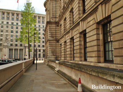 Old War Office Building. Whitehall Court