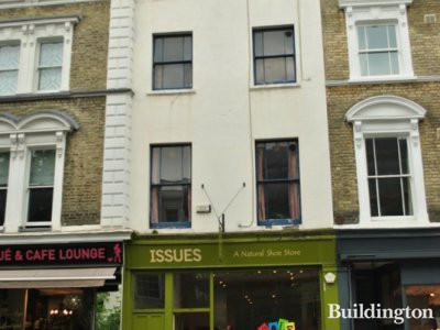 181 Westbourne Grove. Issues - natural shoe store in May 2012.
