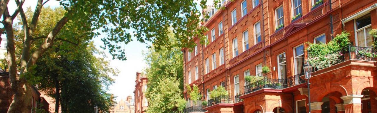 7-9 Cadogan Square in Belgravia, London SW1.