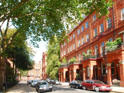7-9 Cadogan Square in Belgravia, London SW1.