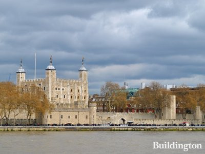 Tower of London in Spring 2012.