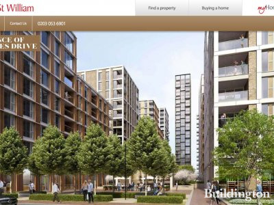 Prince of Wales Drive development on St Williams website