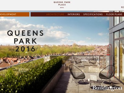 Screen capture of Queen's Park Place development website at www.queensparkplace.com