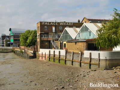 Palace Wharf - View from Thames Path