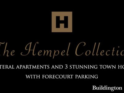 Screen capture of The Hempel Collection at www.thehempelcollection.com