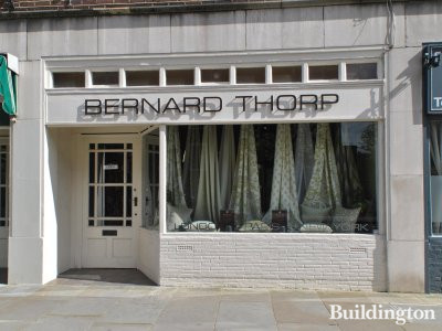 Bernard Thorp store at 51 Chelsea Manor Street.