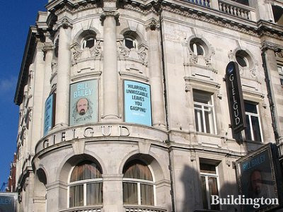 Gielgud Theatre on Shaftesbury Avenue, London W1.