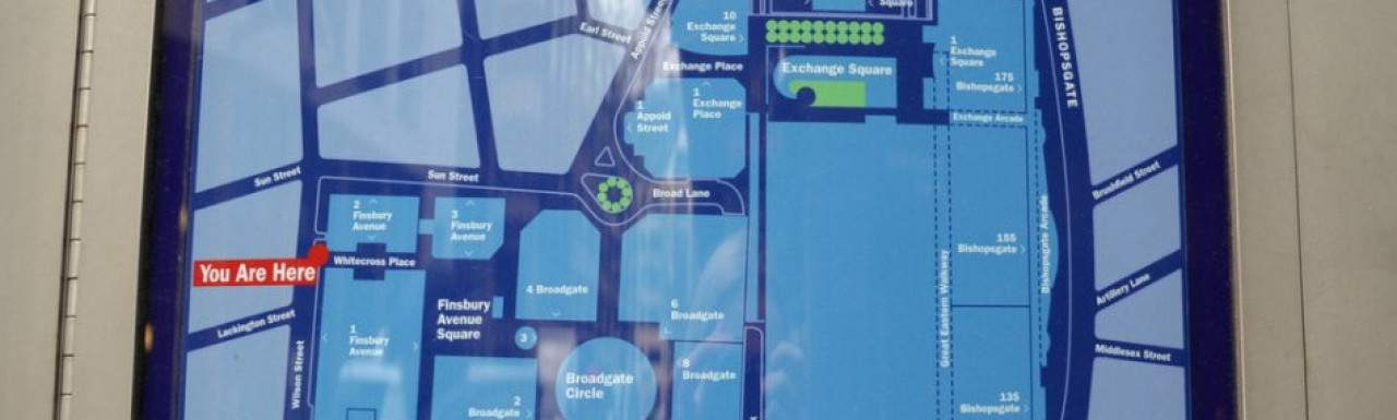 Broadgate sitemap
