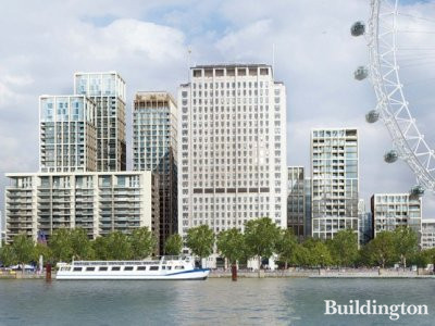 CGI of One Southbank Place