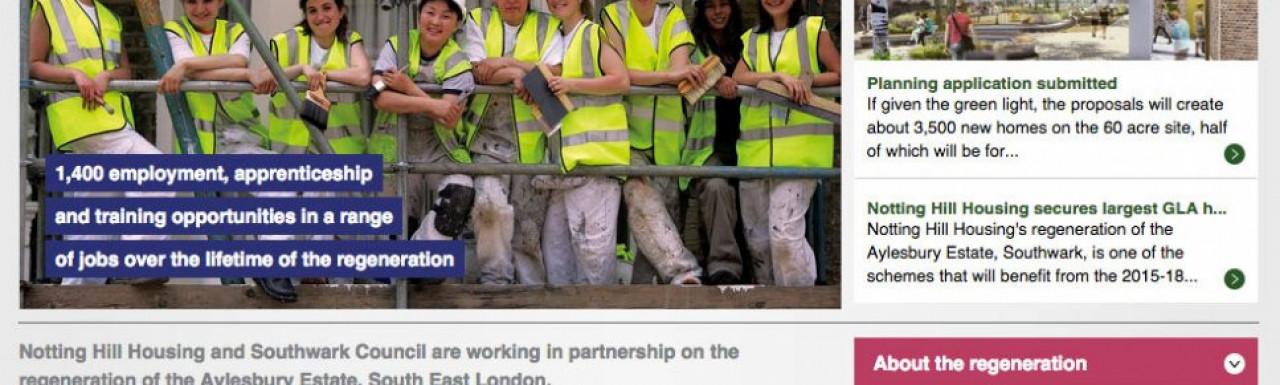 Aylesbury Estate website at www.aylesburynow.london