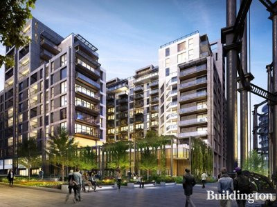 CGI of Plimsoll Building in Kings Cross, London N1