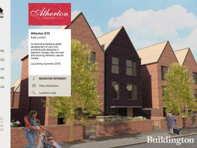Atherton Court by Sherrygreen Homes in Forest Gate, London E15