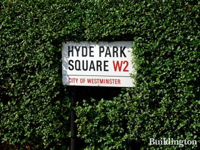 Some flats have views on Hyde Park Square