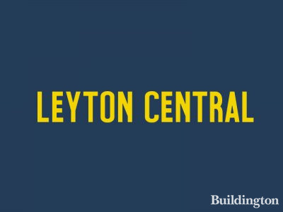 Leyton Central development by Tudorvale