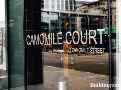 Camomile Court at 23 Camomile Street in the City of London EC3.