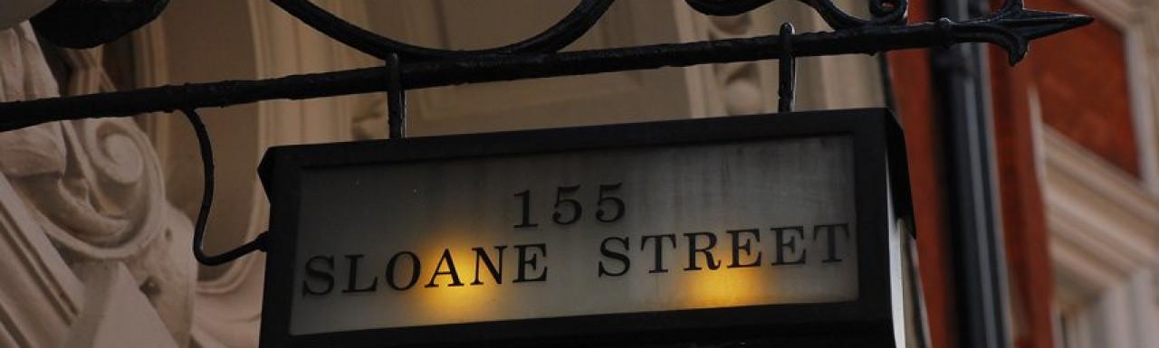 155 Sloane Street building in London SW1