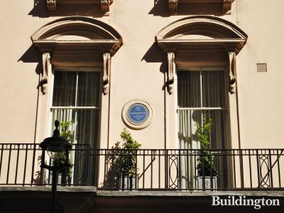1C King Street - Napoleon III lived here in 1848.