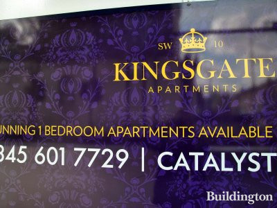 Kingsgate Apartments - Stunning 1-bedroom apartments available in May 2013.