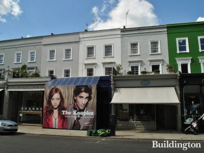 The Kooples store on the ground floor