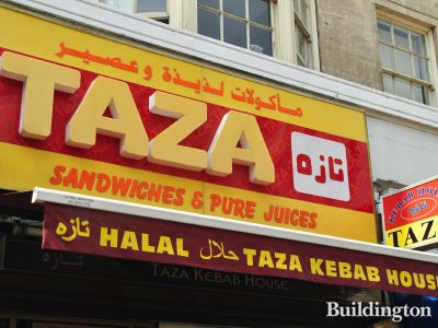 Taza sandwiches and pure juices in 2013