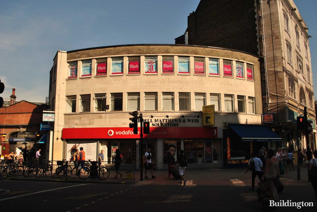 Hammersmith Broadway - at the heart of Hammersmith in London