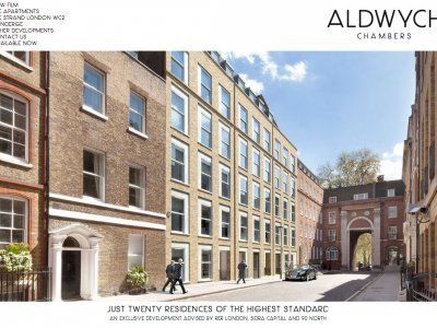 Screen capture of Aldwych Chambers  development website at www.aldwychchambers.com