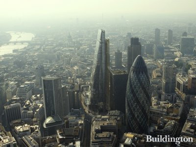 The Leadenhall Building aerial view
