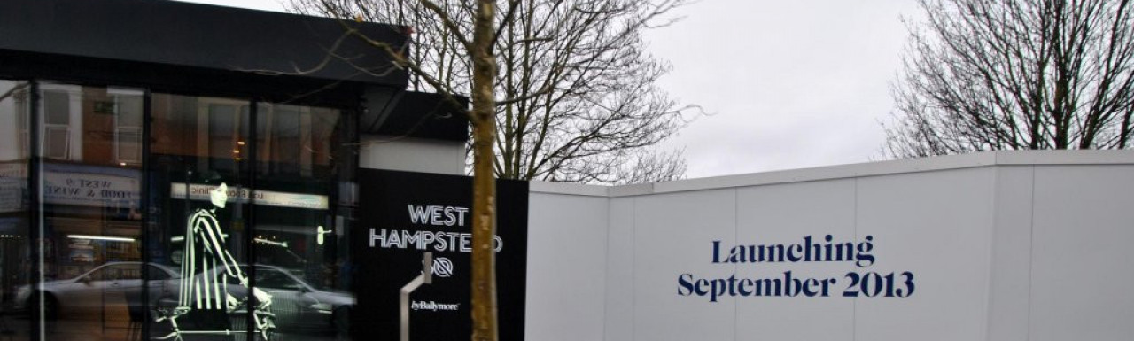 West Hampstead SQ site on West End Lane in December 2013.