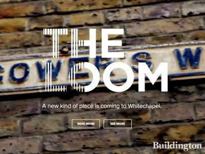 Screen capture of The LOOM development website at theloom-e1.com