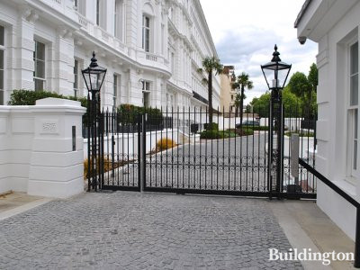The Lancasters - Gates on Leinster Terrace