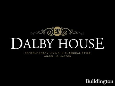 Screen capture of Dalby House logo on the development website at www.dalbyhouse.co.uk